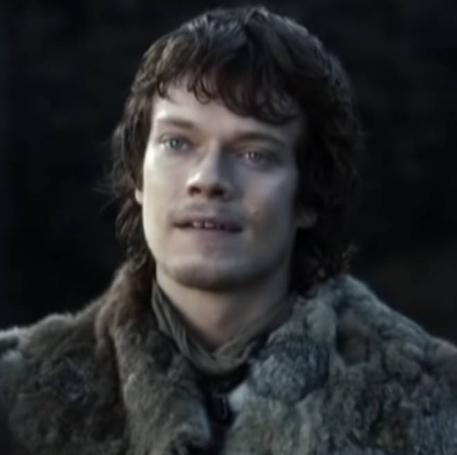 Theon Greyjoy grew up with the Starks, before he returned to the Iron Islands