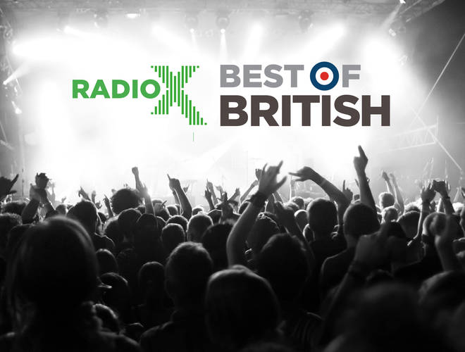 Radio X Best Of British 2019 logo