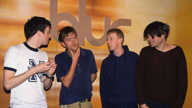 Blur launch their self-titled album in February 1997