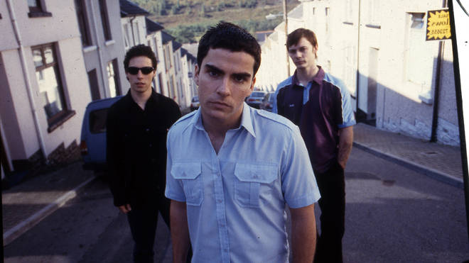 Stereophonics in 1997: Stuart Cable, Kelly Jones and Richard Jones
