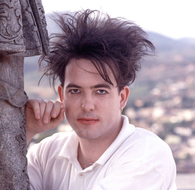 Robert Smith of The Cure in Brazil in 1987