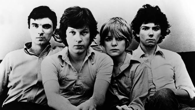 Talking Heads in 1977: David Byrne, Chris Frantz, Tina Weymouth, and Jerry Harrison