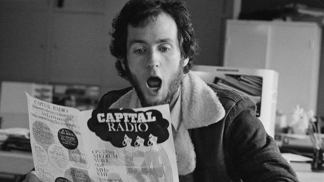 Kenny Everett on Capital Radio in 1974