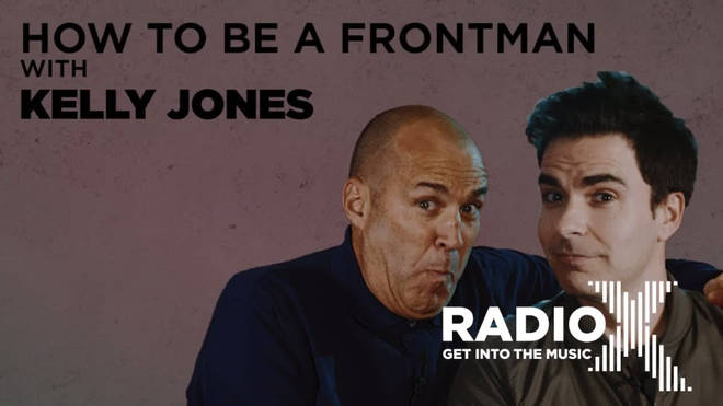 Stereophonics' Kelly Jones teaches Johnny Vaughan how to be a frontman