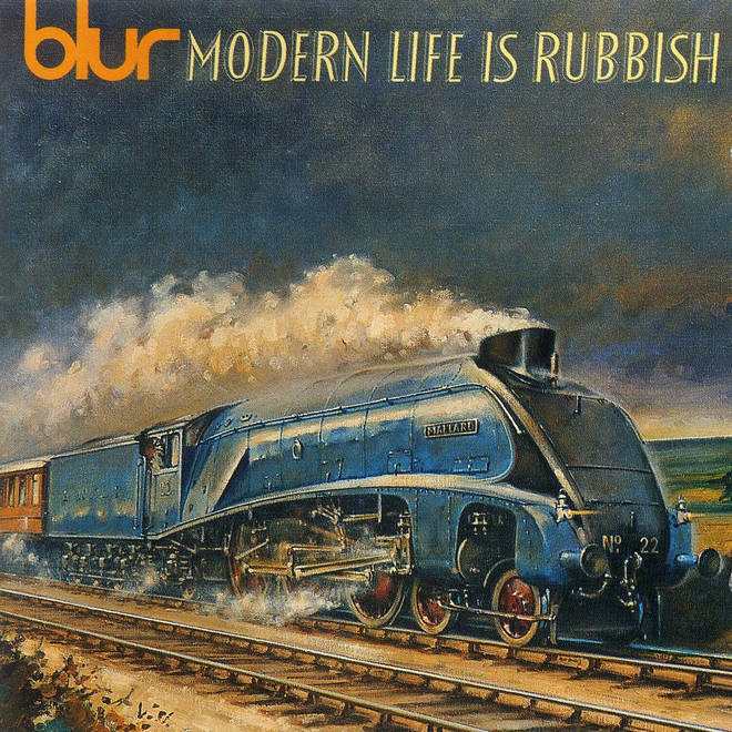 Blur - Modern Life Is Rubbish album artwork