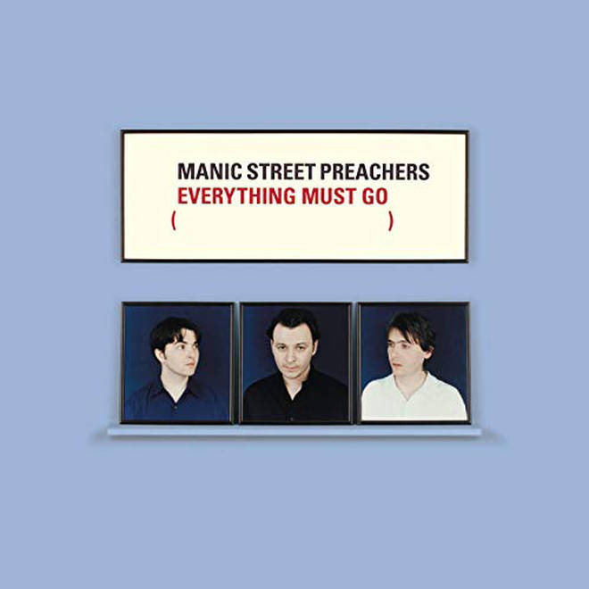 Manic Street Preachers - Everything Must Go album cover