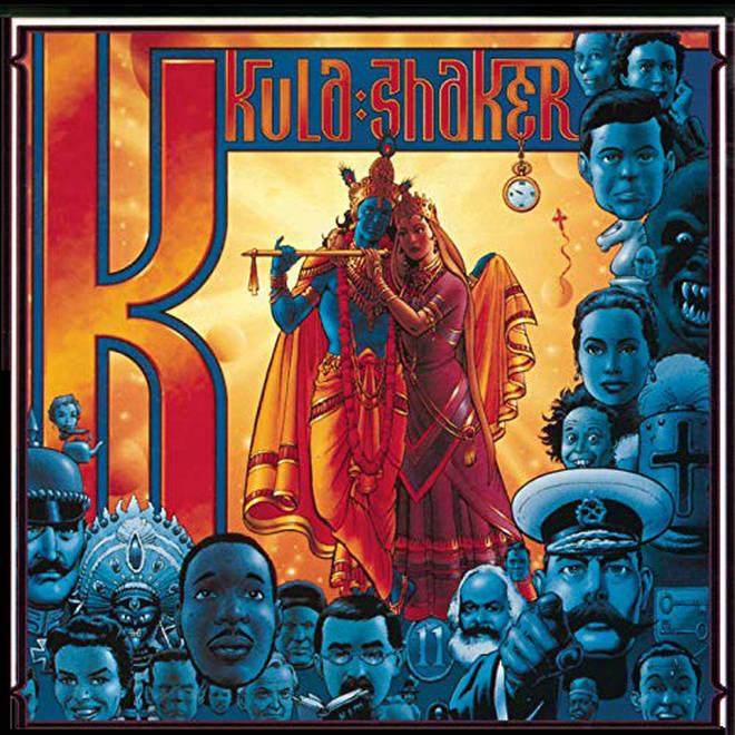 Kula Shaker - K album cover