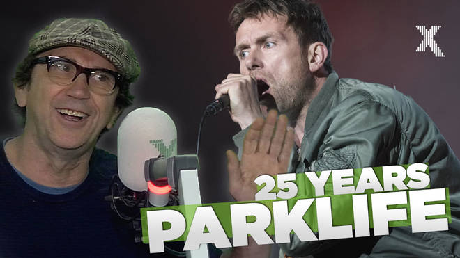 Phil Daniels talks to Chris Moyles about how he featured on Blur's Parklife single