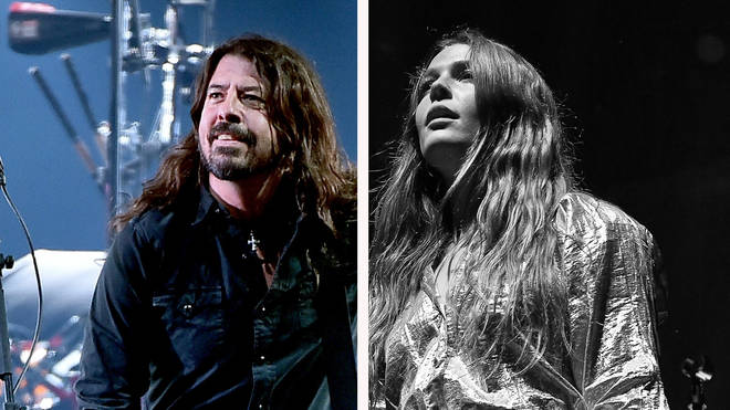Foo Fighters' Dave Grohl and Maggie Rogers