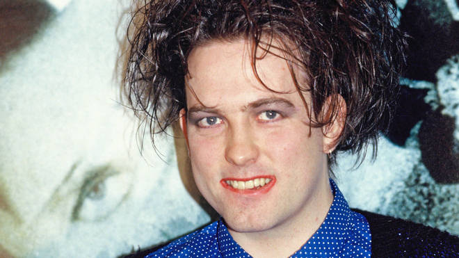 Robert Smith attends a photo-call for the release of the album Disintegration by The Cure in May 1989 in London, England.
