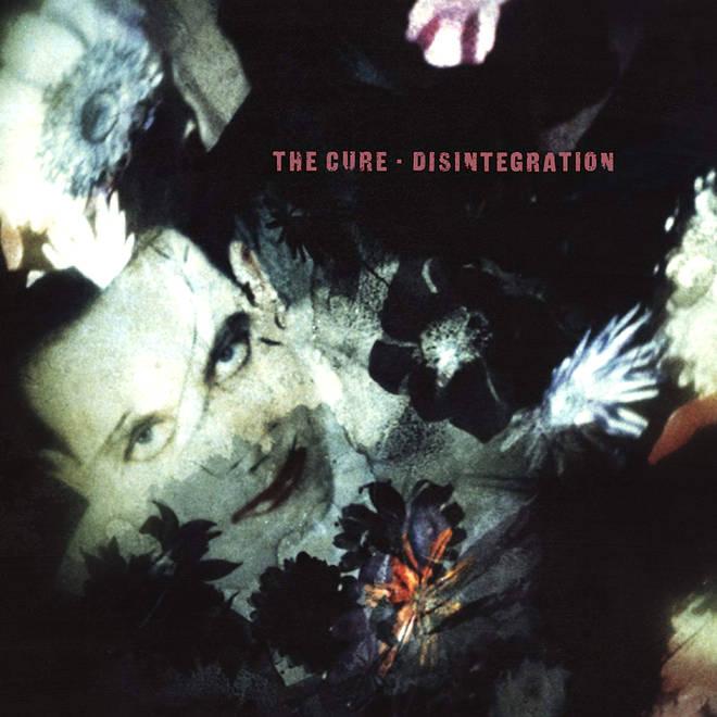 The Cure - Disintegration album cover