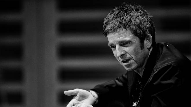 Noel Gallagher speaks at an intimate evening in London in October 2018