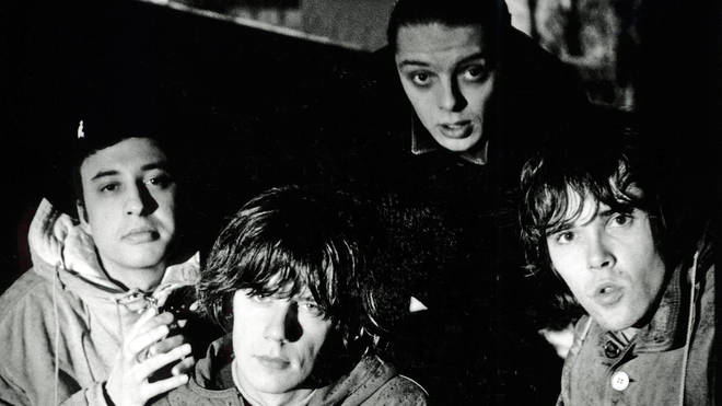 The Stone Roses: Alan 'Reni' Wren, John Squire, Gary 'Mani' Mounfield and Ian Brown.