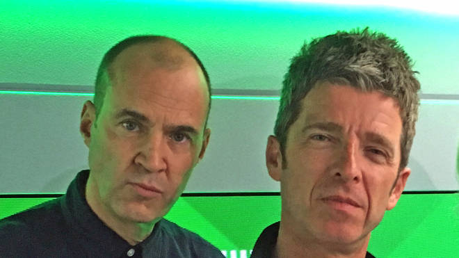 Noel Gallagher and Johnny Vaughan May 2019
