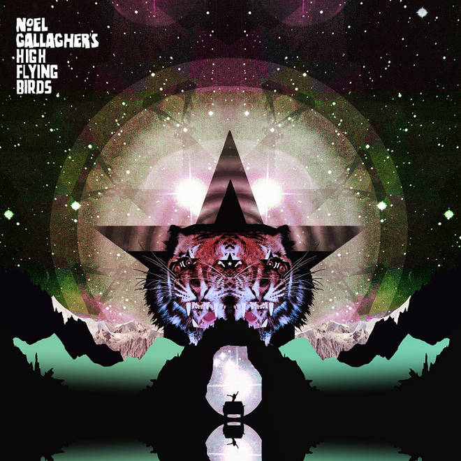 Noel Gallagher's High Flying Birds - Black Star Dancing single artwork