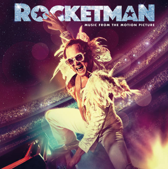 The artwork for the Rocketman soundtrack