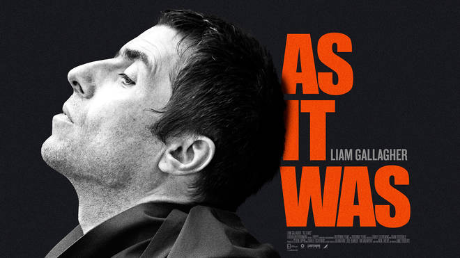 Liam Gallagher As It Was film documentary poster