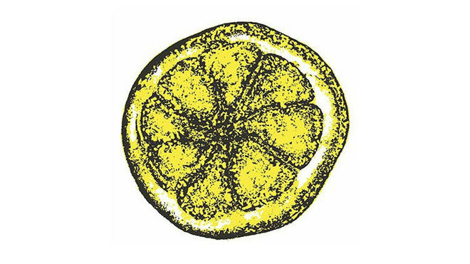 The Stone Roses lemon logo