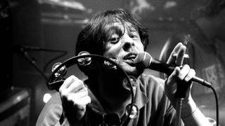 Shaun Ryder of Happy Mondays, live UK 1989