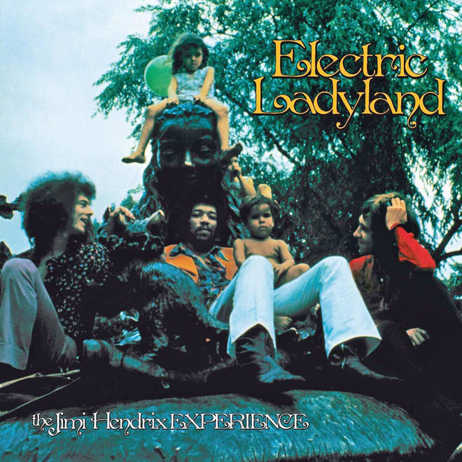The Jimi Hendrix Experience - Electric Ladyland album cover