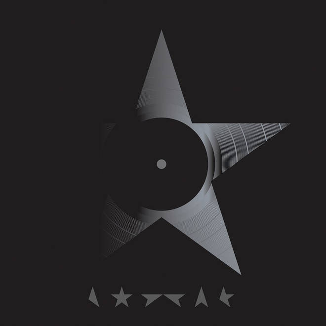 David Bowie - Blackstar album cover