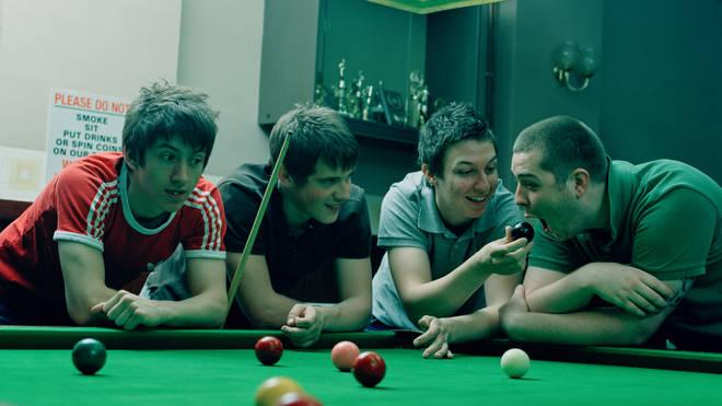 Arctic Monkeys' Alex Turner, Jamie Cook, Matt Helders, Andy Nicholson in 2006