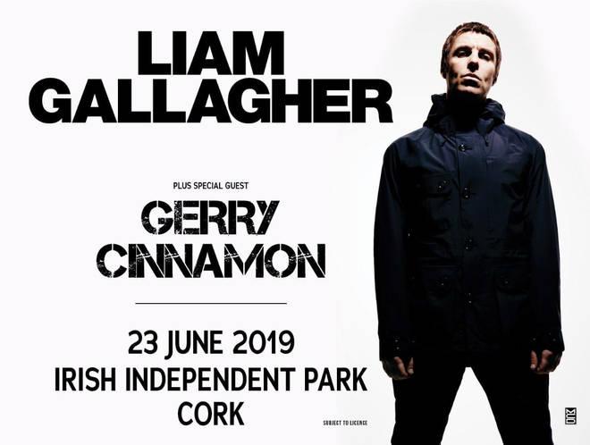 Gerry Cinnamon announced as special guest for Liam Gallagher's Irish gig