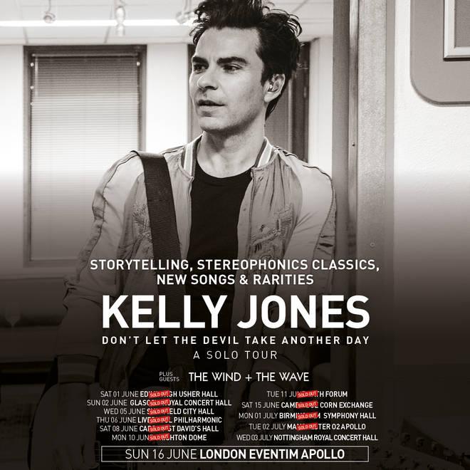 Kelly Jones 2019 solo tour
