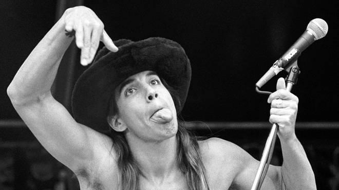 Anthony Kiedis in 1989