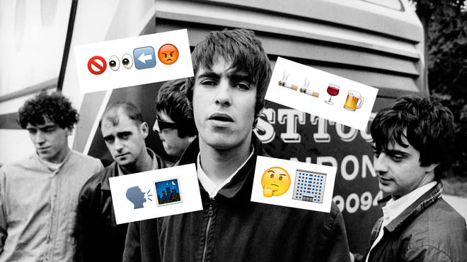 Oasis 1994: Tony McCarroll, Paul 'Bonehead' Arthurs, Noel Gallagher, Liam Gallagher, Paul 'Guigsy' McGuigan