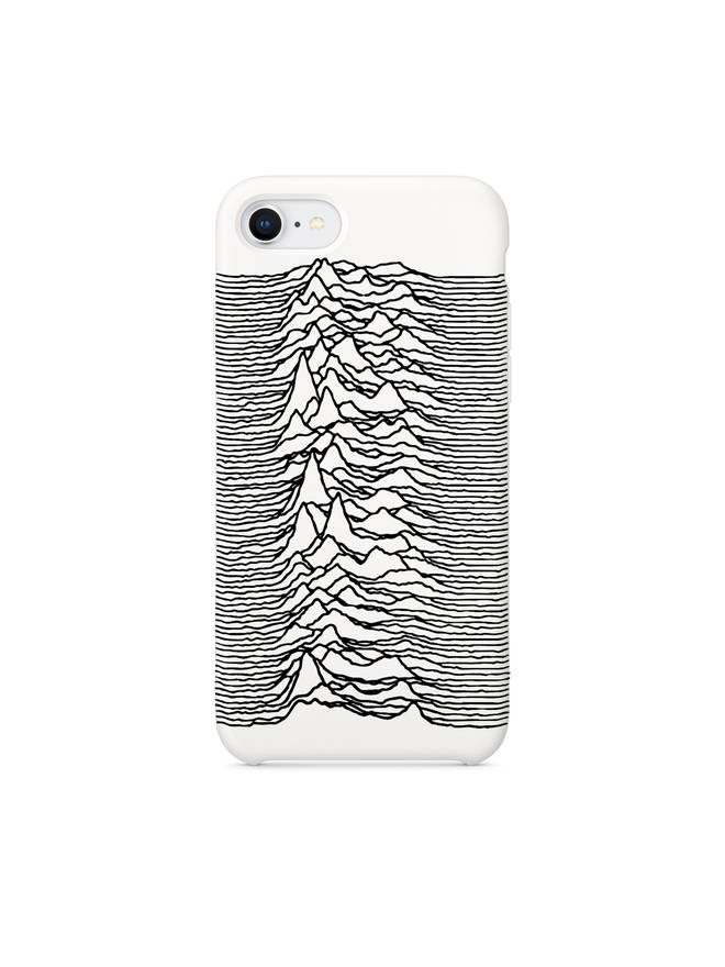 Joy Division Goodhood Unknown Pleasures iPhone case