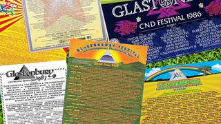 Glastonbury line-ups