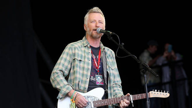 Billy Bragg at Glastonbury 2014