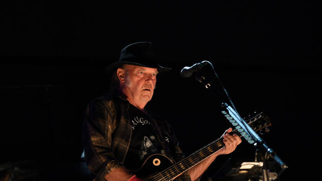 Neil Young, live 2017