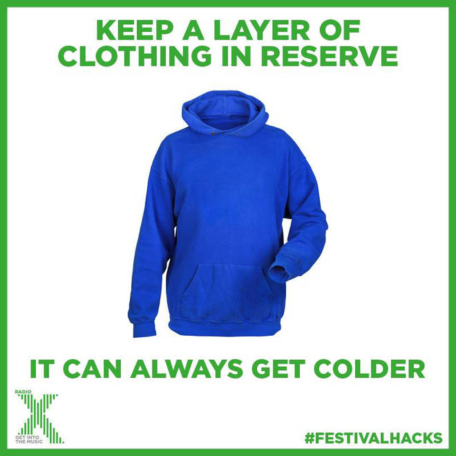 The secret to staying snug at Glastonbury