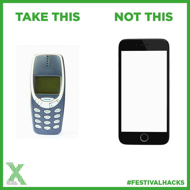 Should you take old skool tech to a festival?