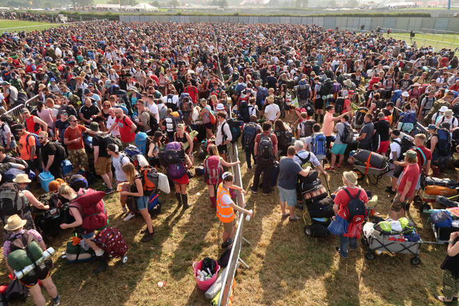 "Glastonbury arrivals, 2017: ""Did I lock the front door before we left?"""