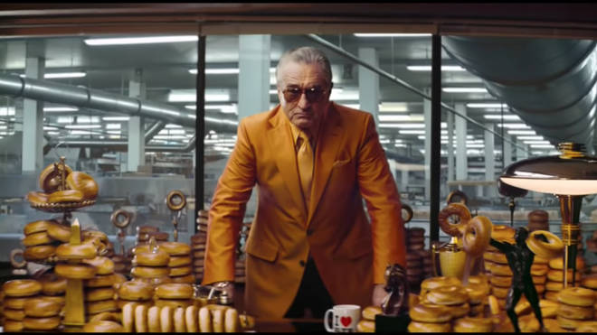 Robert De Niro stars in Warburtons bagels TV advert