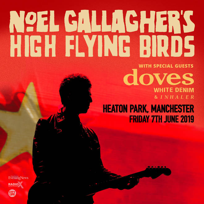 Noel Gallagher's High Flying Birds at Heaton Park poster