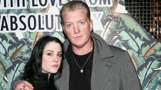 Queens of the Stone Age's Josh Homme and wife Distillers singer Brody Dalle