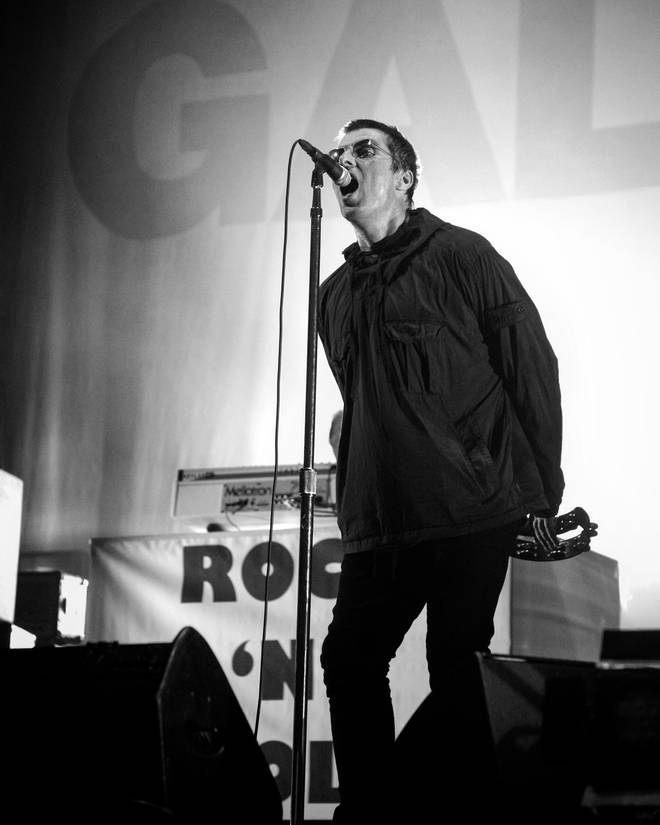 Liam Gallagher performs Oasis anthem Acquiesce for the first time ever as a solo artist