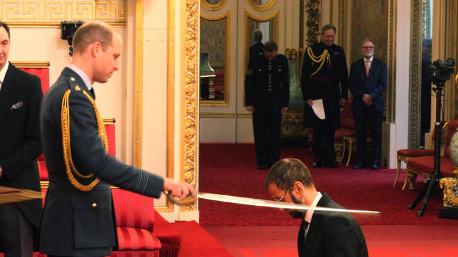 Ringo Starr receives Knighthood