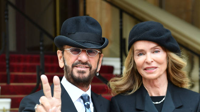 Sir Ringo Starr and Barbara Bach