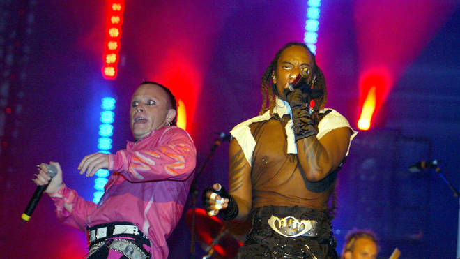 The Prodigy at the Carling Leeds Festival Weekend, 2002