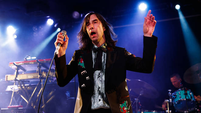Bobby Gilllespie performs with Primal Scream in May 2019