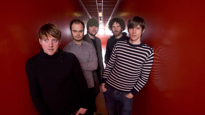 Kaiser Chiefs in 2007: Ricky Wilson, Nick Baines, Andrew White, Simon Rix and Nick Hodgson