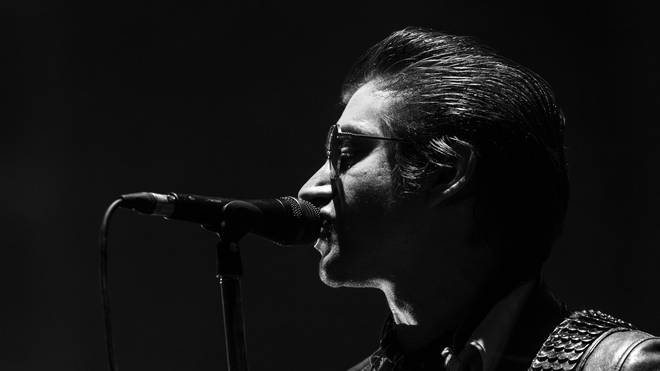 Alex Turner of Arctic Monkeys performs during the second day of Lollapalooza Buenos Aires 2019