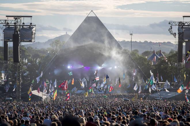 Glastonbury Festival 2017 Pyramid Stage