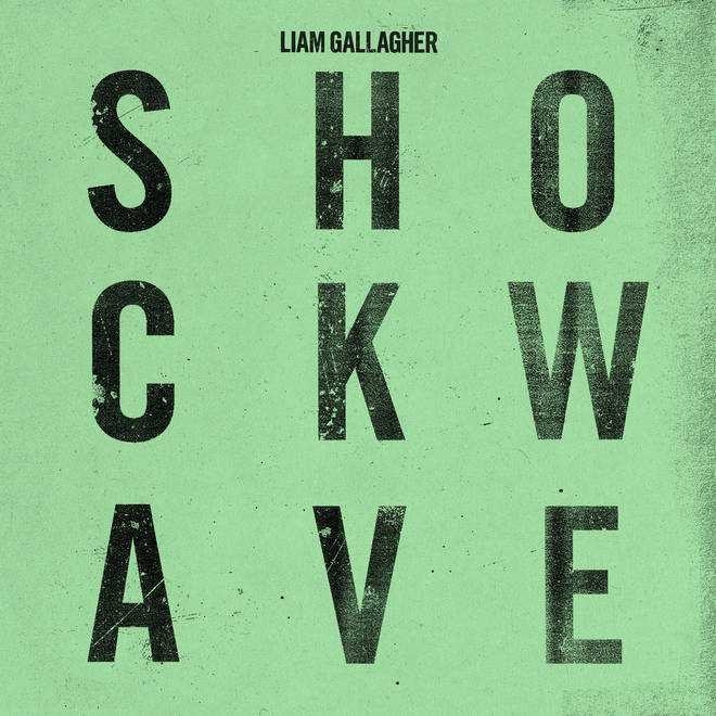 The artwork for Liam Gallagher's Shockwave single
