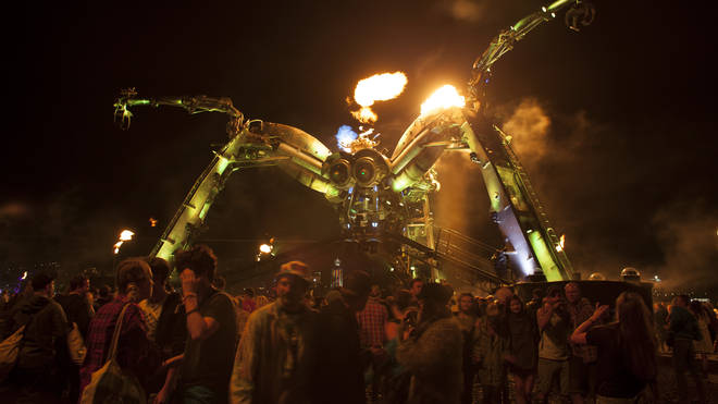 The Arcadia Spider at Glastonbury Festival 2014